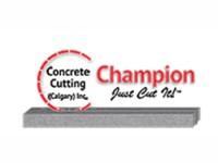 Champion Concrete Cutting (Calgary) Ltd